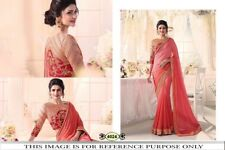 Bollywood Indian Party Wear Saree Wedding Pakistani Designer Saree 4024