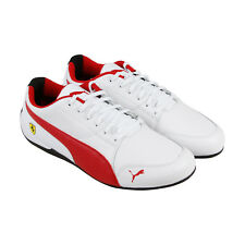 Puma Sf Drift Cat 7 Mens White Synthetic Lace Up Sneakers Shoes