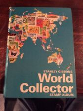 Old World Collector Stamp Album With Approx 300 Old Stamps