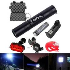 Rechargeable Powerful Outdoor 18650 LED Flashlight Lamp Bulb 5 modes Torch Light