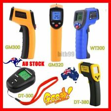Handheld Digital LCD Temperature Thermometer Laser Non-Contact IR Infrared Gun E