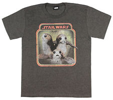 Star Wars The Last Jedi Porgs Frame Youth Boys Graphic T Shirt Tee New
