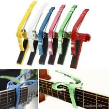 New Release Capo Quick Change Clamp Key Trigger Acoustic Electric Guitar Tune
