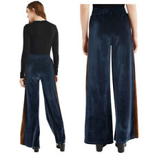 Wide Leg Trousers Leggings Womens New Pants Stretchy Baggy