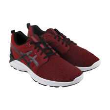 Asics Gel Torrance Mens Red Textile Athletic Lace Up Running Shoes