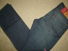 NWT Levi's 513 jeans 32 x 30 Slim Straight Fit Retail $70   Style # 08513-0200