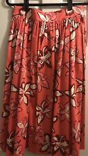 KATE SPADE Tiger Lily Floral Print Cotton Skirt size 8 or 10 NWT ($298)