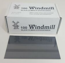 Windmill stockcards for stamps - approvals etc 2 or 3 strips