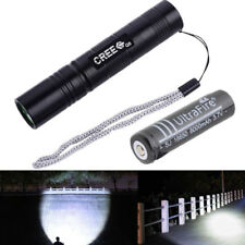 Rechargeable Powerful Outdoor 18650 LED Flashlight Lamp Bulb Torch Light