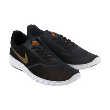 Nike Sb Lunar Paul Rodriguez Mens Black Mesh Athletic Skate Shoes