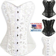 Womens Body Shaper Slimming Waist Cincher Underbust Corset Shapewear OverSize US
