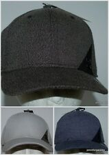 BILLABONG CAP HAT NEW MENS STATION stretch FLEXFIT BLACK NAVY GREY Heather Logo