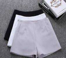 Ladies Casual Polyester Shorts High Waist Fashionable Elegant Clothes Comfy Wear