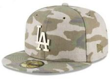 Official MLB Los Angeles Dodgers Antique Camo New Era 59FIFTY Fitted Hat