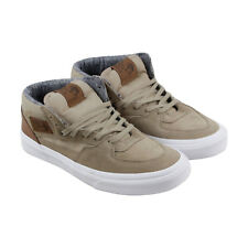 Vans Half Cab Sil Mens Gray Suede Lace Up Sneakers Shoes