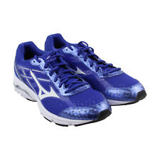 Mizuno Wave Unite 2 Mens Blue Mesh Athletic Lace Up Running Shoes