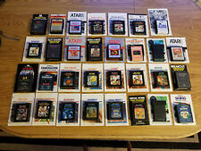 ATARI 2600 GAMES WITH MANUALS YOUR CHOICE OF 31 SHIPPING DISCOUNTS AVAILABLE