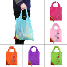 1pc Strawberry Foldable Shopping Bag Tote Reusable Eco Friendly Grocery Bag EC