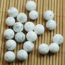 Natural Gemstone Stone   Howlite Turquoise Round Loose Spacer Beads 4/6/8/10mm