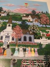 """""""A Moment to Cherish"""" Serigraph by Jane Wooster Scott  hand signed"""