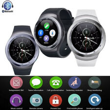 Smart Bluetooth Wrist Watch Touch Screen Phone Watch for Samsung S8 Plus S7 S6