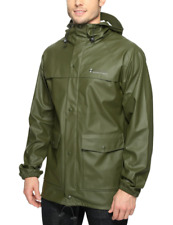 COLUMBIA MENS IBEX RAIN JACKET WATERPROOF Size L/XXL NEW Retail $120.00