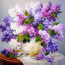 Diamond Painting DIY 5D Lavender Flower Pattern Lovely Handicraft Wall Art Decor