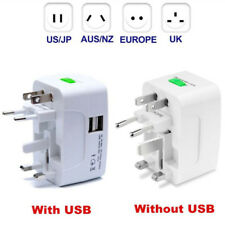 International Universal Travel Charger Adapter Power Converter(Plug EU UK US AU)
