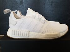 NEW IN THE BOX ADIDAS NMD_R1 D96635 WHITE/GUM SNEAKER FOR MEN