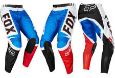FOX RACING YOUTH KIDS MOTOCROSS 180 PANTS FIEND SE BLUE / RED quad bike trousers