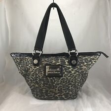 BETSEYVILLE by BETSEY JOHNSON Cheetah Print Tote Bag Purse Handbag
