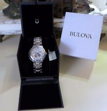Bulova 96A118 BVA Series Automatic Semi-Skeleton Dial Wristwatch