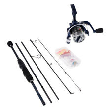 Ultra-light Lure Spinning Fishing Rod and Reel Combo Travel Fishing Pole Set