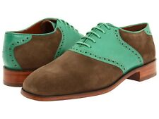 67% off NEW FLORSHEIM BY DUCKIE BROWN The Saddle Green Multi Oxford  retail $350