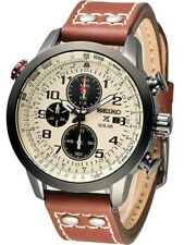 NEW SEIKO PROSPEX AVIATOR SOLAR CHRONOGRAPH MENS WATCH SSC425P1 Boxes Papers