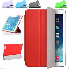 For iPad Air/ iPad 2 3 4 5 6 Mini Slim Flip Leather Smart Stand Hard Case Cover