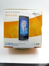 Sony Ericsson Xperia X10a 1GB Black AT&T-Refurbished, Near Mint Cond.-RF2642