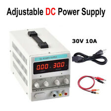 110V/220V Adjustable DC Power Supply Variable Dual Digital Lab Precision 30V 10A