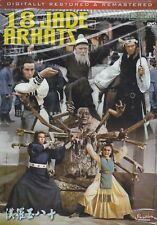 18 Jade Arhats DVD wu xia Kung Fu Martial Arts Action movie dubbed