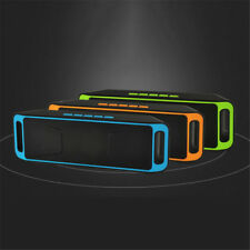 SC208 Bluetooth Wireless Audio Speaker SUPER BASS Stereo Portable Rechargeable
