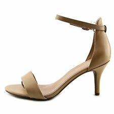Kelly & Katie Womens Kirstie Open Toe Ankle Strap Classic Pumps
