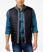 Barbour of England Essential Quilted Vest (L, XL) Mens Mid Grey Gilet Sweater