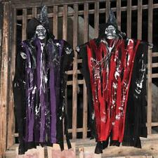 Hanging Ghost Halloween Decoration With Sounds And Lights Horror Scary Props New