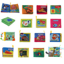 Children Intellectual Fabric Cloth Book Cognize Baby Educational Stroller Toy