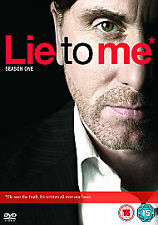 Lie To Me - Series 1 - Complete (DVD, 2009, 4-Disc Set)