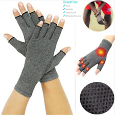 Copper Hands Arthritis Gloves As Seen Therapeutic Compression ON SUPPORT DET