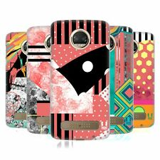 HEAD CASE DESIGNS PATTERN BLOCKING FASHION HARD BACK CASE FOR MOTOROLA PHONES 1