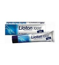 LIOTON 1000 gel thrombophlebitis varicose veins phlebothrombosis edema and pain