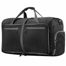 Large Foldable Travel Storage Luggage Gym Weekender Carry On Shoulder Duffle Bag