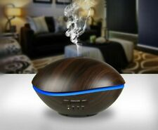 Air Ultrasonic Humidifier For Home 500 LED Light Essential Oil Diffuser Atomizer